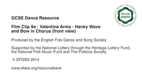 Film Clip 9a: Valentine - Arms - Hanky Chorus Front