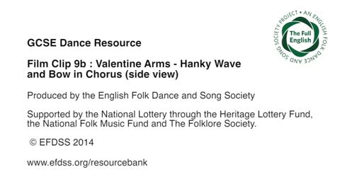 Film Clip 9b: Valentine - Arms - Hanky Chorus Side