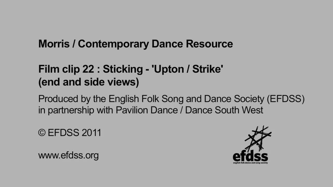 Film 22: Sticking - Upton / Strike