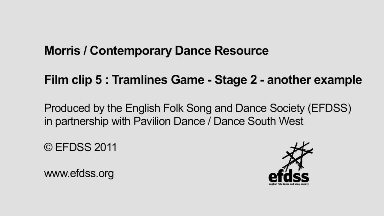 Film 5: Warm Up - Tramlines Game Stage 2 example 2