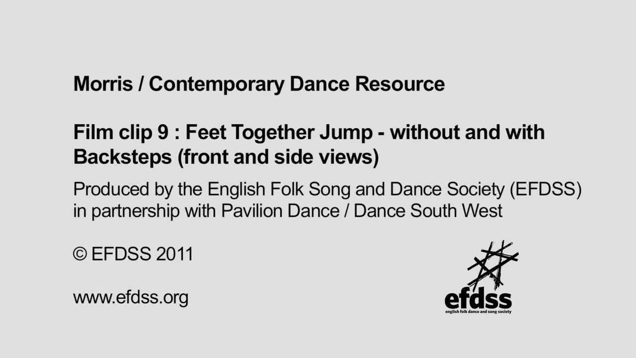 Film 9: Morris Steps - Feet Together Jump